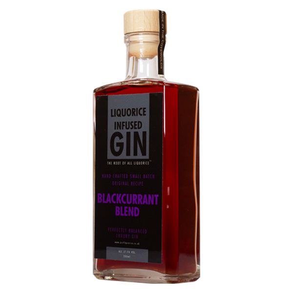 Blackcurrant liquorice infused gin