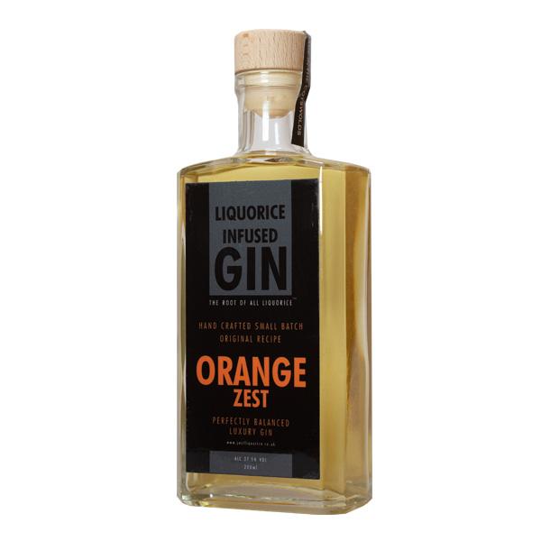 Orange Zest liquorice infused Gin