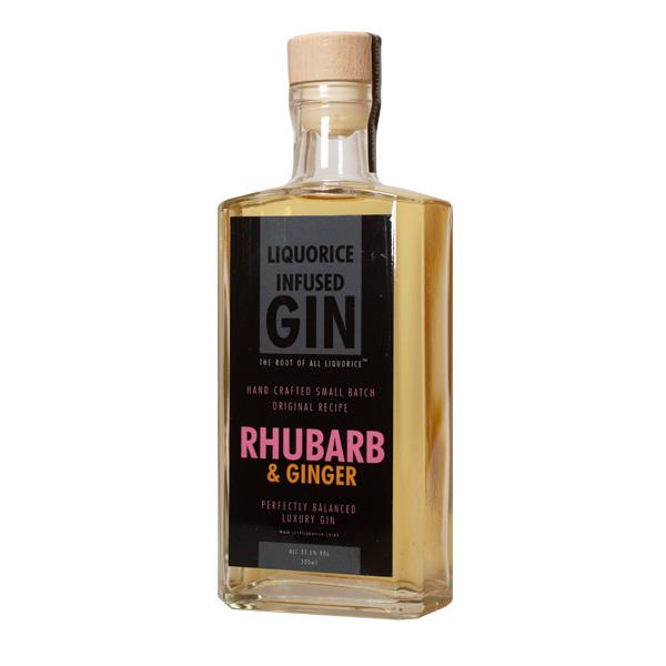 Rhubarb and ginger liquorice Gin